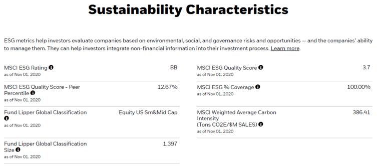 Sustainability Characteristics Image